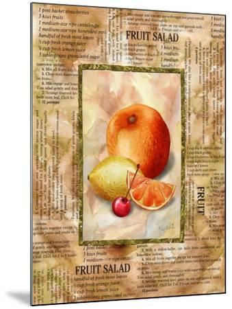 Mixed Fruit II-Abby White-Mounted Art Print