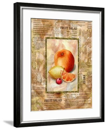 Mixed Fruit II-Abby White-Framed Art Print