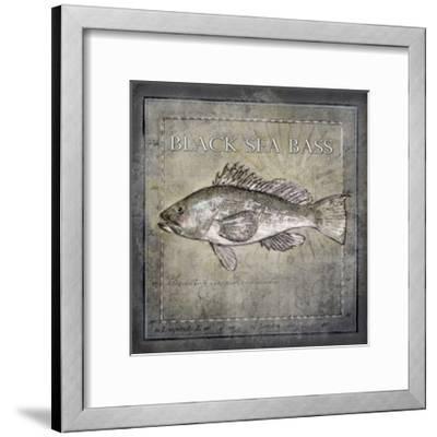 Ocean Fish II-Beth Anne Creative-Framed Art Print