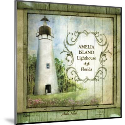 Florida Lighthouse I-Beth Anne Creative-Mounted Art Print