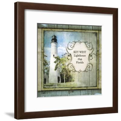 Florida Lighthouse VI-Beth Anne Creative-Framed Art Print