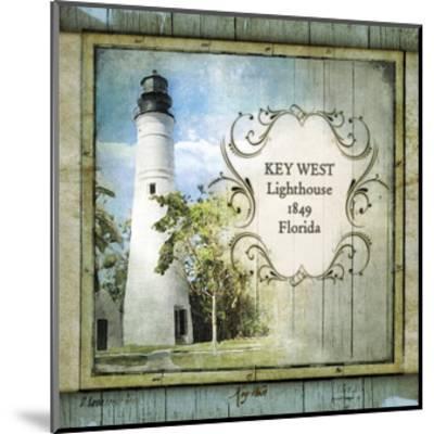Florida Lighthouse VI-Beth Anne Creative-Mounted Art Print