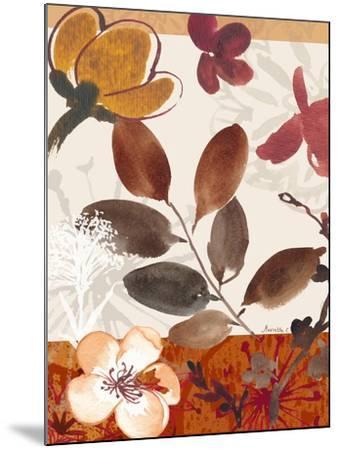 Modern Flowers I-Marietta Cohen-Mounted Art Print