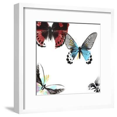 Butterflies Dance I-A. Project-Framed Art Print