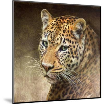 Leopard-Chris Vest-Mounted Art Print