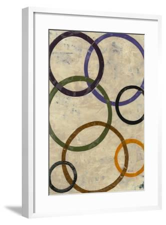 Round-n-Round II-Natalie Avondet-Framed Art Print