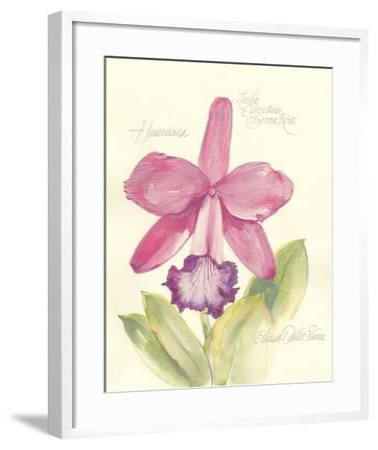 Elissa's Garden V-Elissa Della-piana-Framed Art Print