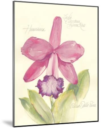 Elissa's Garden V-Elissa Della-piana-Mounted Art Print