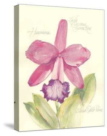 Elissa's Garden V-Elissa Della-piana-Stretched Canvas Print