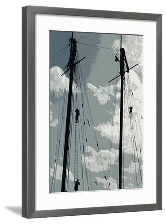 Caribbean Vessel IV-Carolyn Longley-Framed Photographic Print