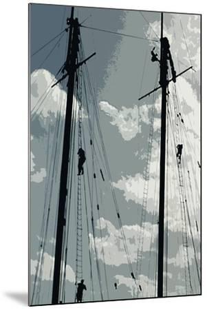 Caribbean Vessel IV-Carolyn Longley-Mounted Photographic Print
