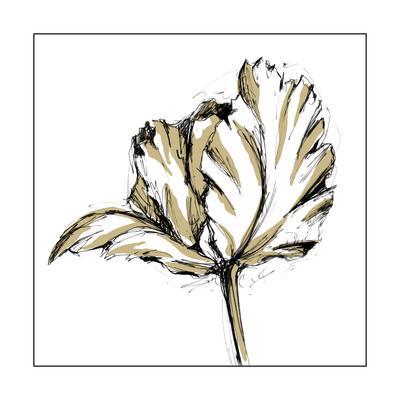 Small Tulip Sketch III-Ethan Harper-Framed Art Print