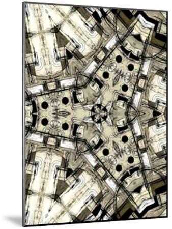 Complex III-James Burghardt-Mounted Art Print