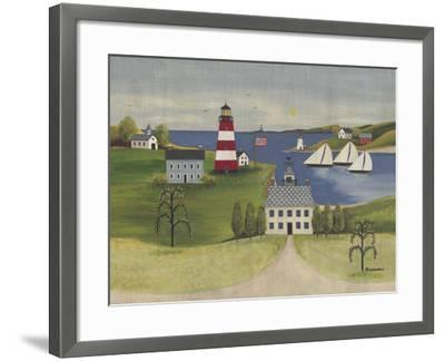 Sea to Shining Sea-Wendy Russell-Framed Art Print