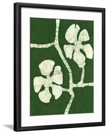 Green Blooms I-Andrea Davis-Framed Art Print
