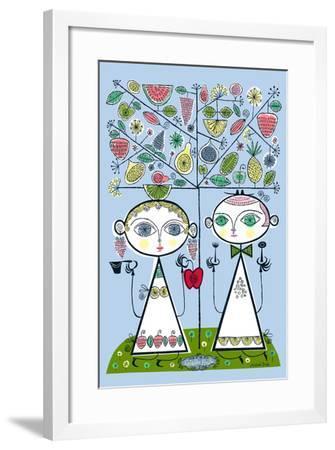 Forbidden Fruit-Melinda Beck-Framed Art Print
