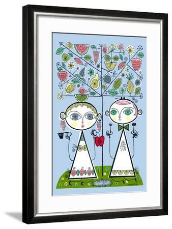 Forbidden Fruit-Melinda Beck-Framed Art Print