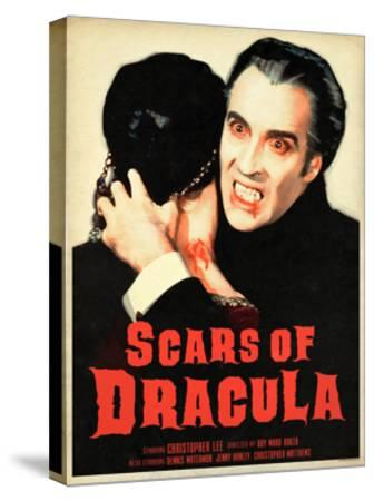 Scars of Dracula 1970--Stretched Canvas Print
