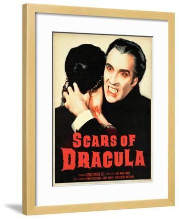 Scars of Dracula 1970--Framed Art Print
