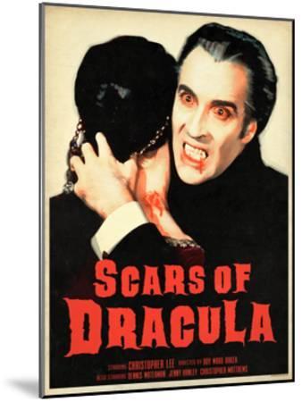 Scars of Dracula 1970--Mounted Art Print