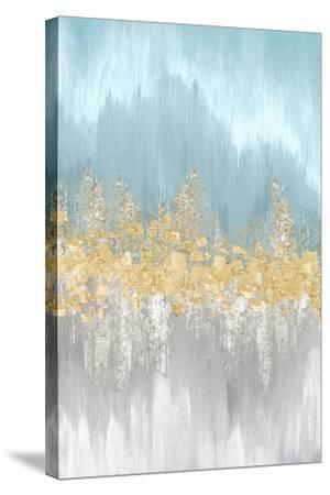 Neutral Wave Lengths I-Eva Watts-Stretched Canvas Print