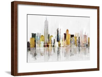 Towering Over Buildings III-Isabelle Z-Framed Art Print