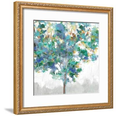 Climbing Blue-Eva Watts-Framed Art Print