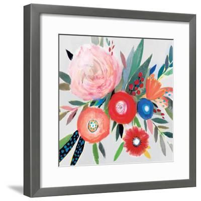 Circular Color Palette I-Isabelle Z-Framed Premium Giclee Print