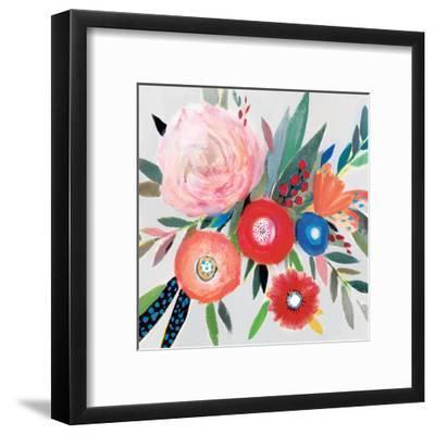 Circular Color Palette I-Isabelle Z-Framed Art Print
