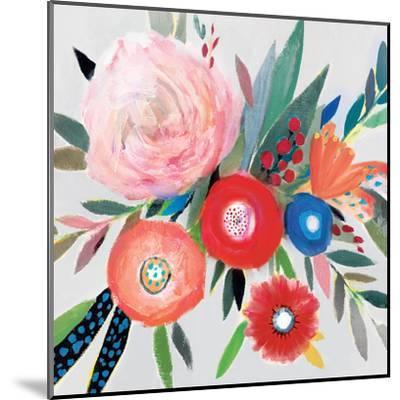 Circular Color Palette I-Isabelle Z-Mounted Art Print
