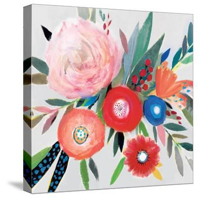 Circular Color Palette I-Isabelle Z-Stretched Canvas Print