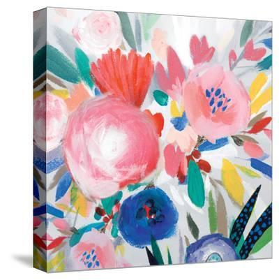 Circular Colour Palette III-Isabelle Z-Stretched Canvas Print