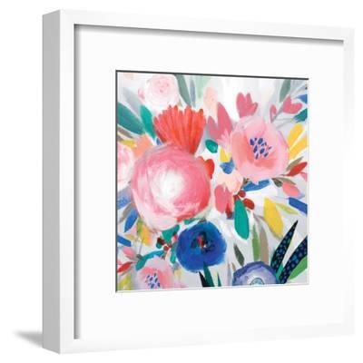 Circular Colour Palette III-Isabelle Z-Framed Art Print