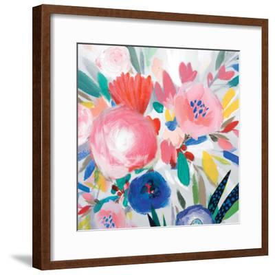 Circular Colour Palette III-Isabelle Z-Framed Premium Giclee Print