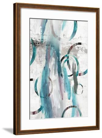 Hoolihoop I-Isabelle Z-Framed Art Print