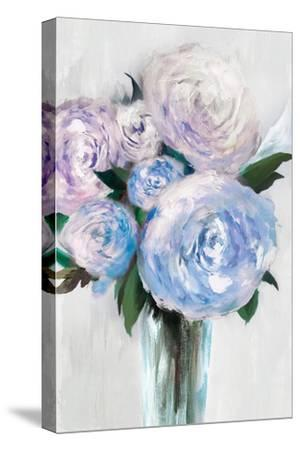 Beauty Within a Vase I-Isabelle Z-Stretched Canvas Print