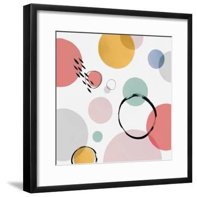 Colour Motion I-Isabelle Z-Framed Art Print