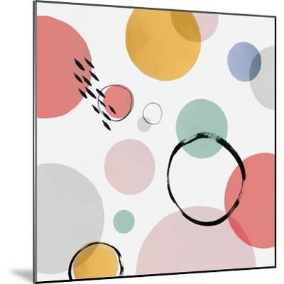 Colour Motion I-Isabelle Z-Mounted Art Print