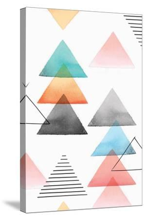 Group of Triangles I-Isabelle Z-Stretched Canvas Print