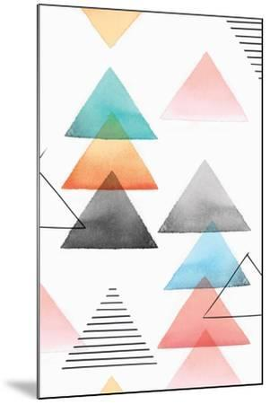 Group of Triangles I-Isabelle Z-Mounted Art Print