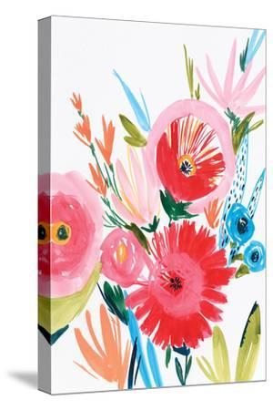 Vermelho I-Isabelle Z-Stretched Canvas Print