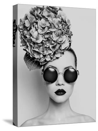 Petunia- Haute Couture-Stretched Canvas Print
