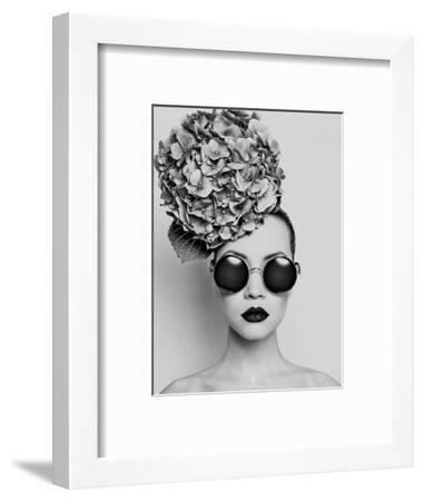 Petunia- Haute Couture-Framed Art Print