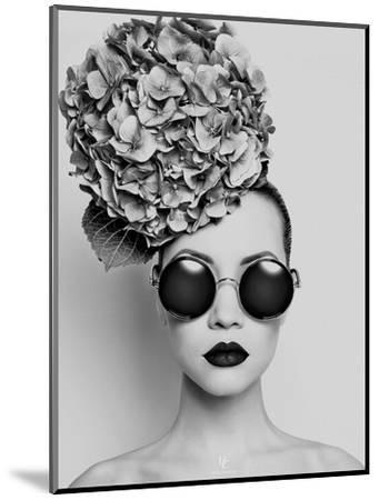 Petunia- Haute Couture-Mounted Art Print
