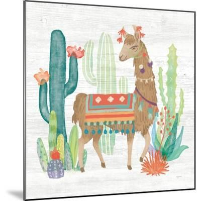 Lovely Llamas III-Mary Urban-Mounted Art Print