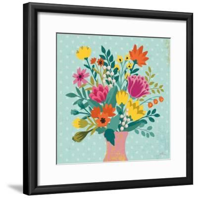 Romantic Luxe XV-Janelle Penner-Framed Art Print