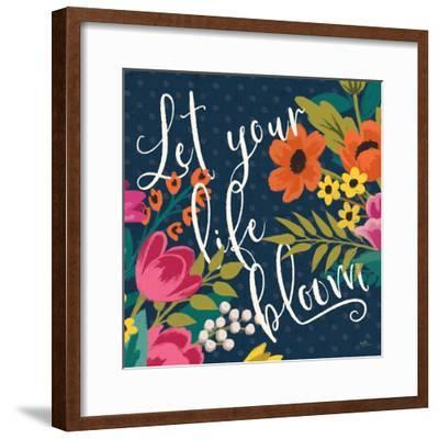 Romantic Luxe II-Janelle Penner-Framed Art Print