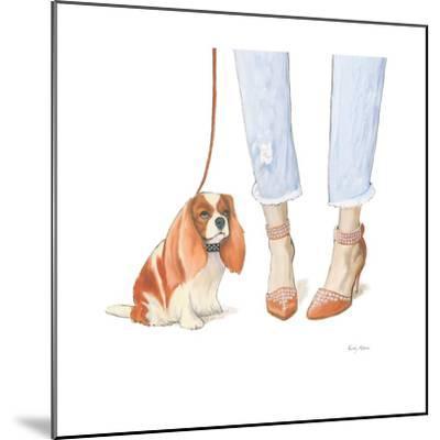 Furry Fashion Friends IV-Emily Adams-Mounted Art Print