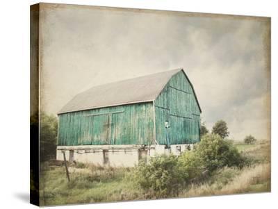 Late Summer Barn I Crop Vintage-Elizabeth Urquhart-Stretched Canvas Print