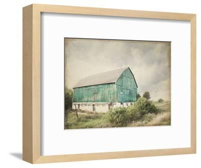 Late Summer Barn I Crop Vintage-Elizabeth Urquhart-Framed Art Print